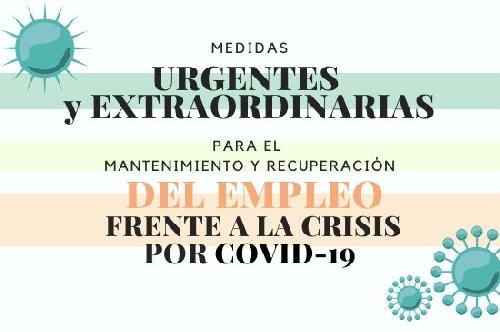 Medidas extraordinarias de empleo frente a la crisis por COVID-19
